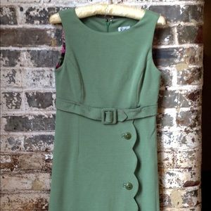 Lilly Pulitzer Green dress with scallop design
